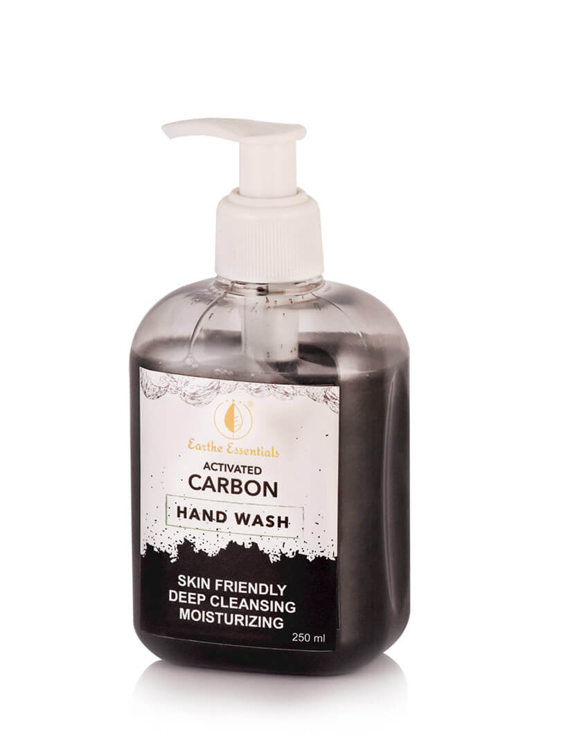 activated carbon hand wash